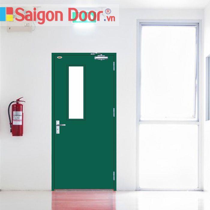 Chia sẻ cách lựa chọn và lắp đặt cửa thép chống cháy