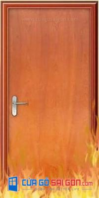 Cửa gỗ chống cháy là gì? Tất tần tật về cửa gỗ chống cháy